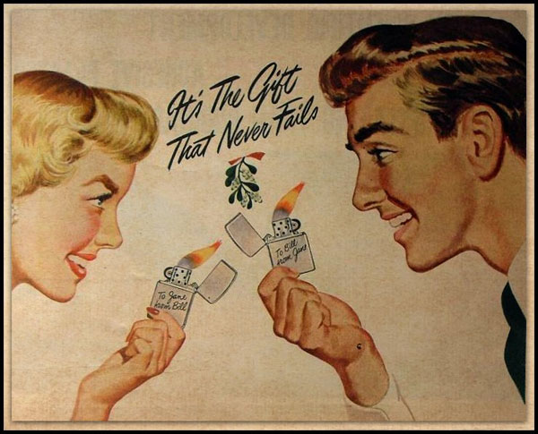 16 zippo One Zip is All it Takes – 21 Zippo Vintage Post war Ads