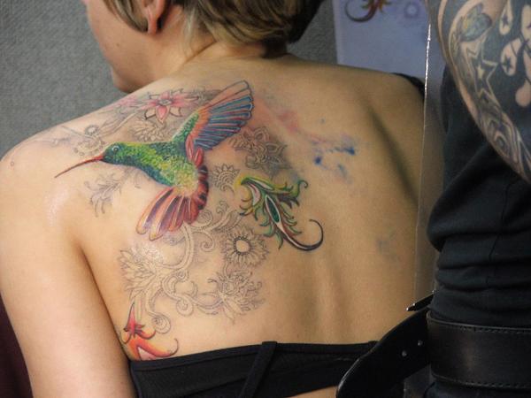humming bird tattooz 85 Mind Blowing Bird Tattoos