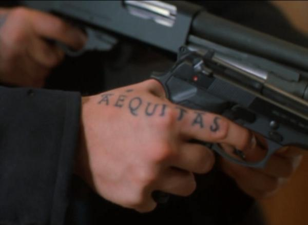 aequitas tattoo 30 Boondock Saints Tattoos Which Are Really Awesome