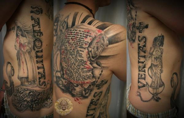 boondock saints prayer done 30 Boondock Saints Tattoos Which Are Really Awesome
