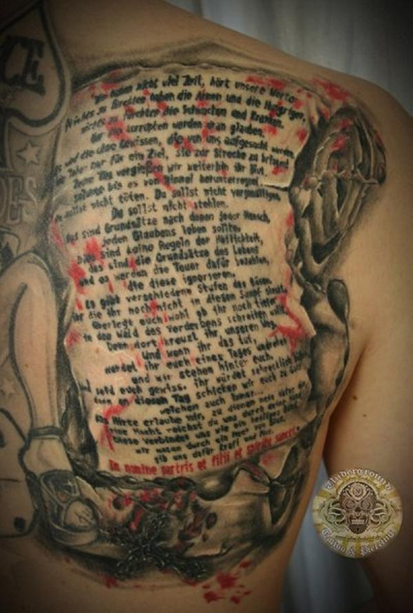 the boondock saints prayer 30 Boondock Saints Tattoos Which Are Really Awesome