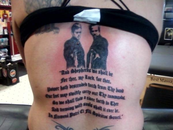 the boys 30 Boondock Saints Tattoos Which Are Really Awesome