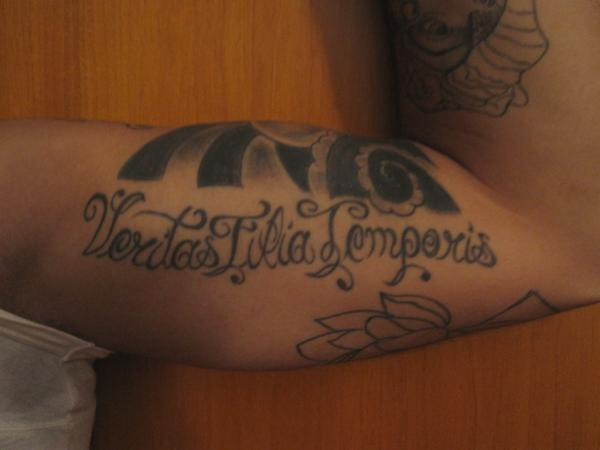 veritas filia temporis 30 Boondock Saints Tattoos Which Are Really Awesome