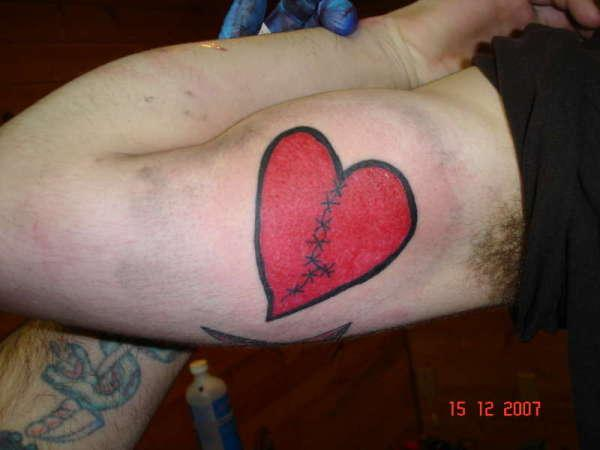 Inner Arm Broken Heart