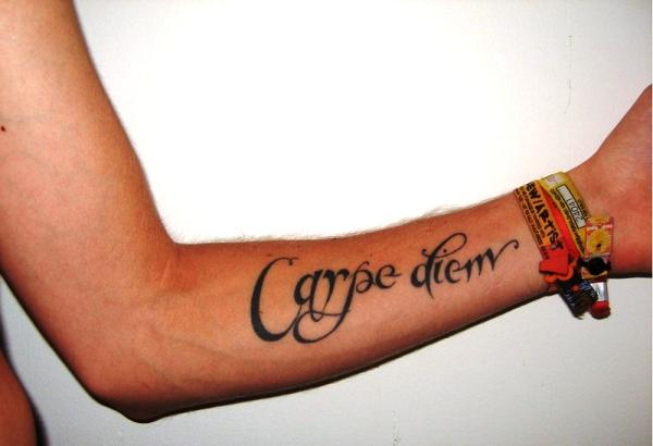 my cool carpe tattoo 30 Majestic Carpe Diem Tattoos