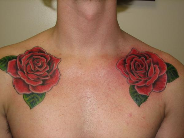 Rose Collarbone Pieces