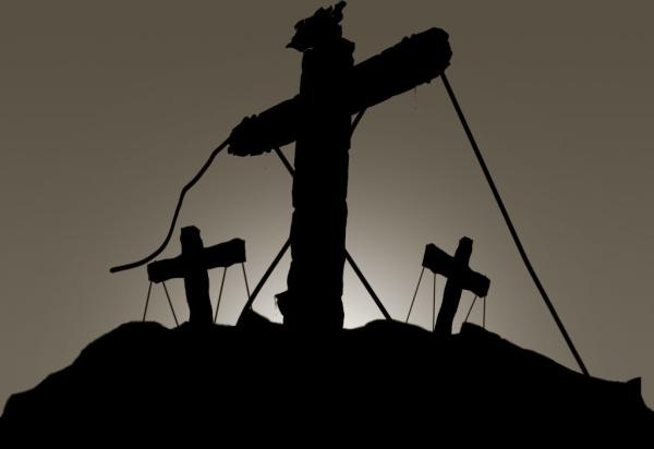cross silhouet 40 Awe Inspiring Pictures of Crosses