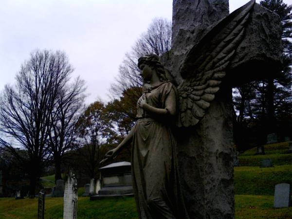 Pretty Angel And Cross
