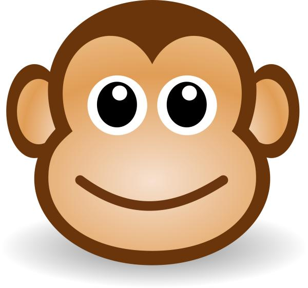 Cute cartoon monkey clip art wallpapers