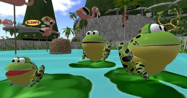 frog family 25 Superb Cute Cartoon Animals