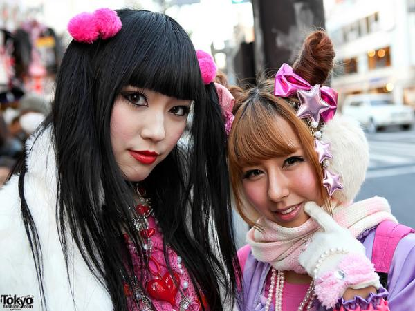 girls in harajuku 40 Cute Easy Hairstyles You Can Definitely Try