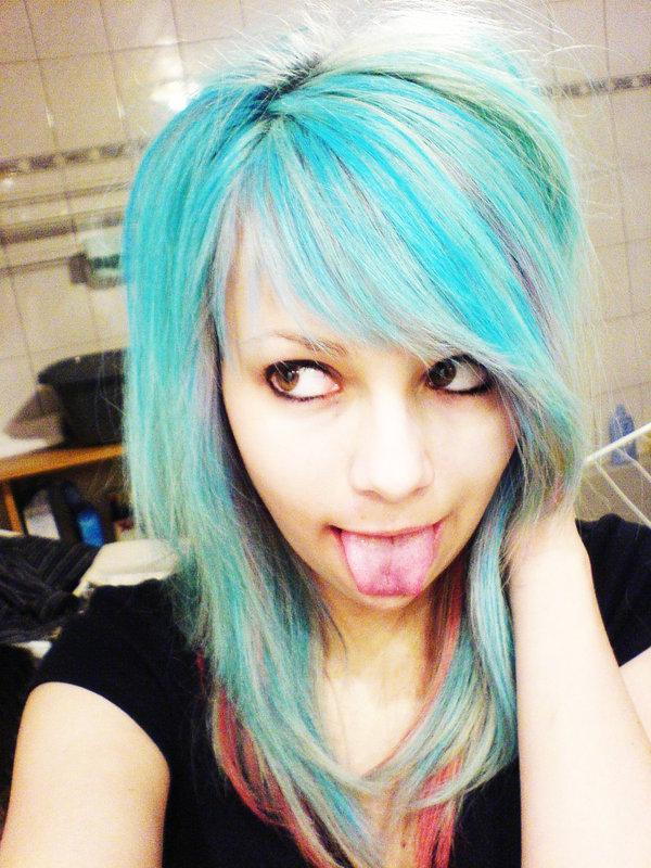 blue hair again 30 Cute Hairstyles For Girls You Should Try To Impress Others