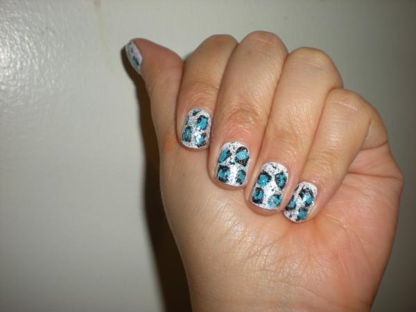 cute butterfly nail 45 Cute Nail Designs You Will Definitely Love