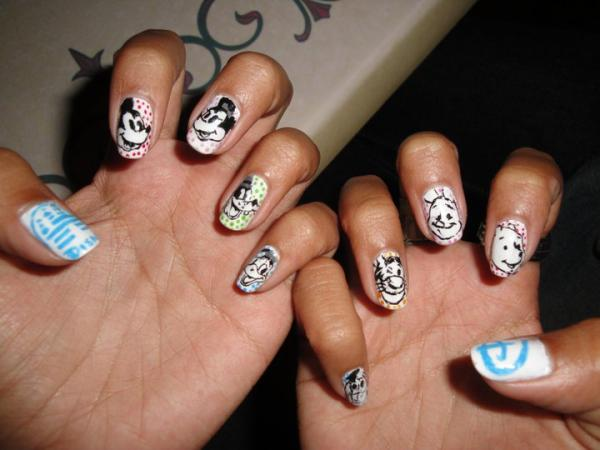disney nail 45 Cute Nail Designs You Will Definitely Love