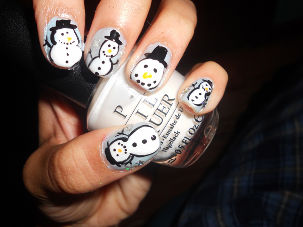 ice age nail 45 Cute Nail Designs You Will Definitely Love