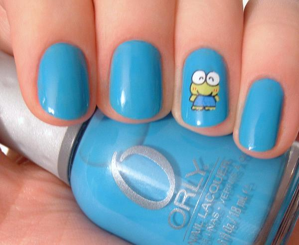 orly blue collar 45 Cute Nail Designs You Will Definitely Love