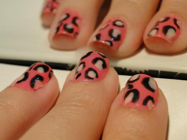 pink leopard nails 45 Cute Nail Designs You Will Definitely Love