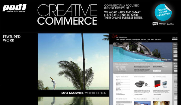 creative commerce 30 Design Agency Website Designs for Your Inspiration