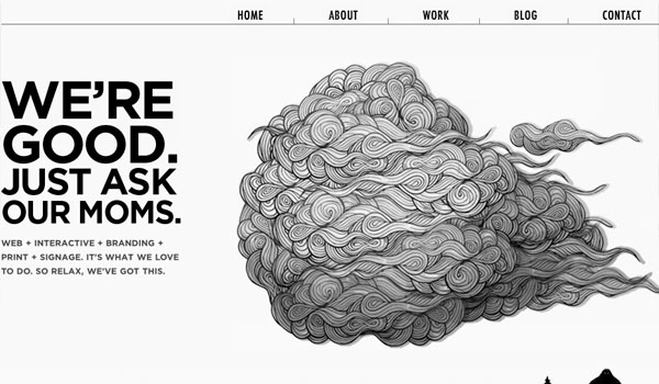 the sum 30 Design Agency Website Designs for Your Inspiration
