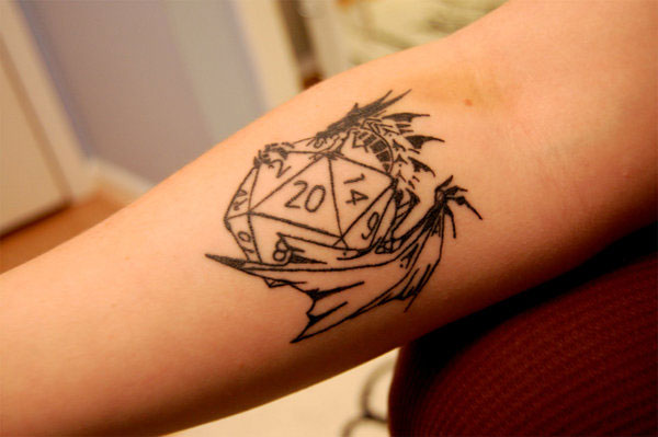 Dungeons and Dragons Tattoo