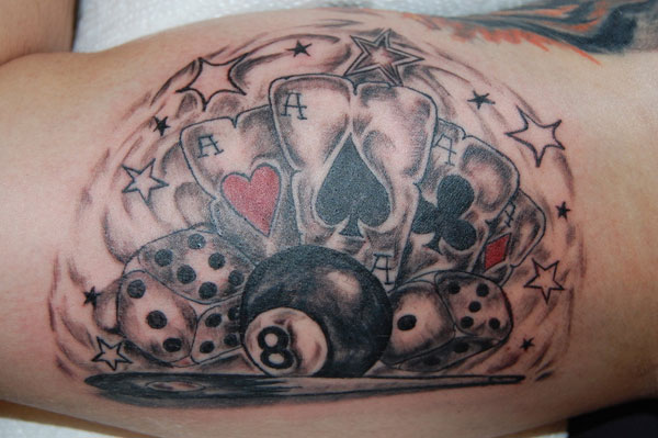 Gamble Tattoo