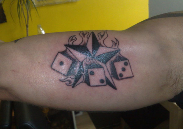 Dice Tattoos 25 Awesome Collections Design Press