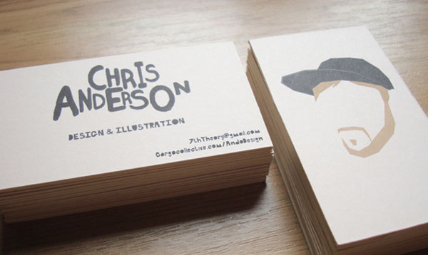 Chris Anderson Business Card