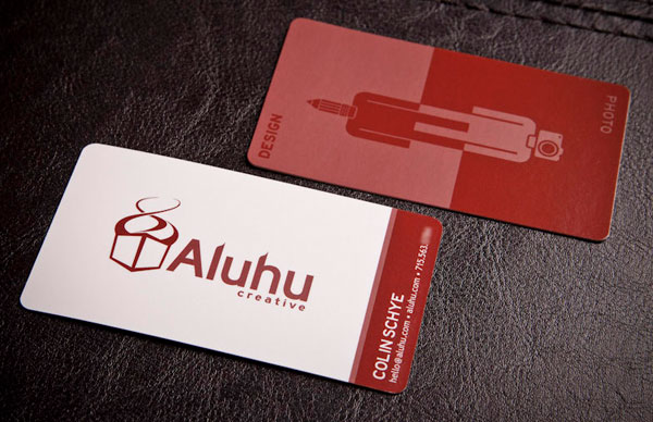 Aluhu Creative Business Cards