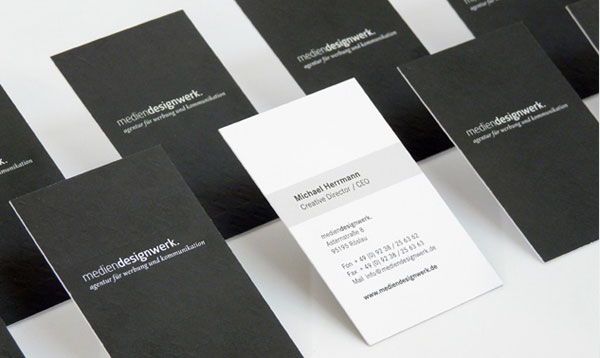 Werbeagentur Business Card Mediendesignwerk