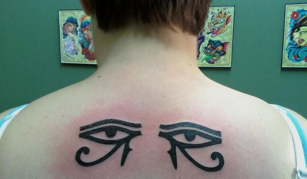 first tattoo eye of horus 25 Awesome Eye of Horus Tattoo Designs