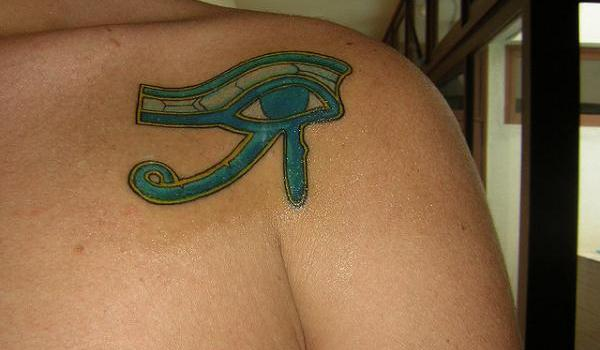 wadjet tattoo 25 Awesome Eye of Horus Tattoo Designs