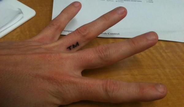 anonymous tattoo 45 Astounding Finger Tattoos