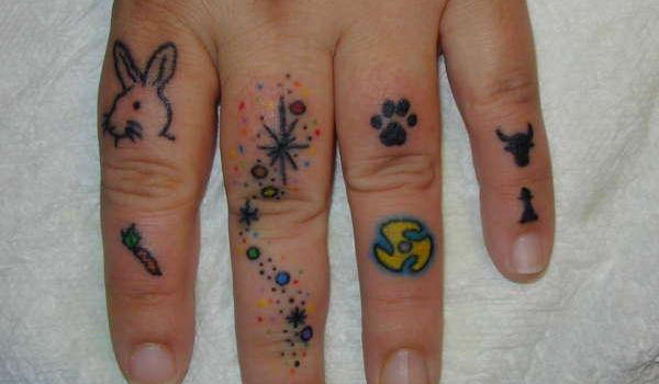 personalised tattoo 45 Astounding Finger Tattoos
