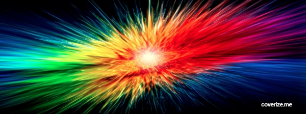 abstract rainbow burst 30 Free Facebook Timeline Cover Backgrounds