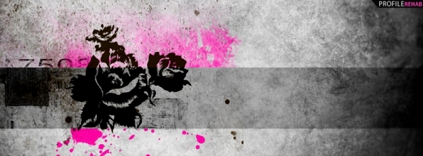 grunge roses 30 Free Facebook Timeline Cover Backgrounds