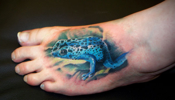 Poison Dart Tree Frog Tattoo