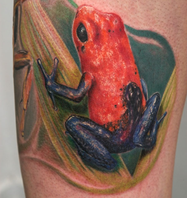 Frog Tattoos 30 Brilliant Collections Design Press