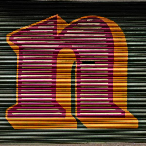 ben eine letter n 60 Swanky Graffiti Alphabet Collection