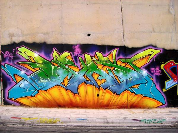 colorful 3d graffiti 60 Swanky Graffiti Alphabet Collection