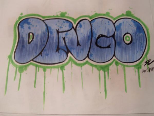 copic graffiti art 60 Swanky Graffiti Alphabet Collection