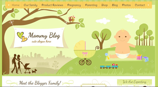mommy blog 30 Exceptional Green Websites