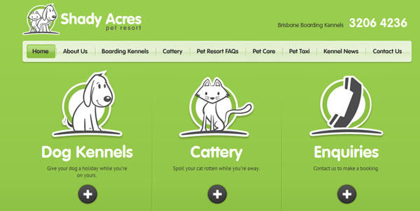 shadyacres 30 Exceptional Green Websites