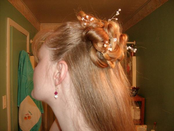 prom hair half up 35 Half Up Hairstyles Which Will Add Charm To Your Personality