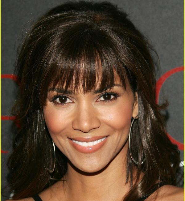 Halle Berry Bangs