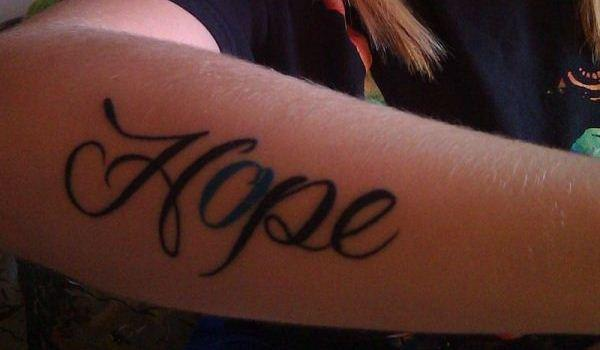 My Hope Tattoo