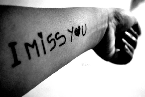 miss you tattoo 30 Striking I Miss You Pictures