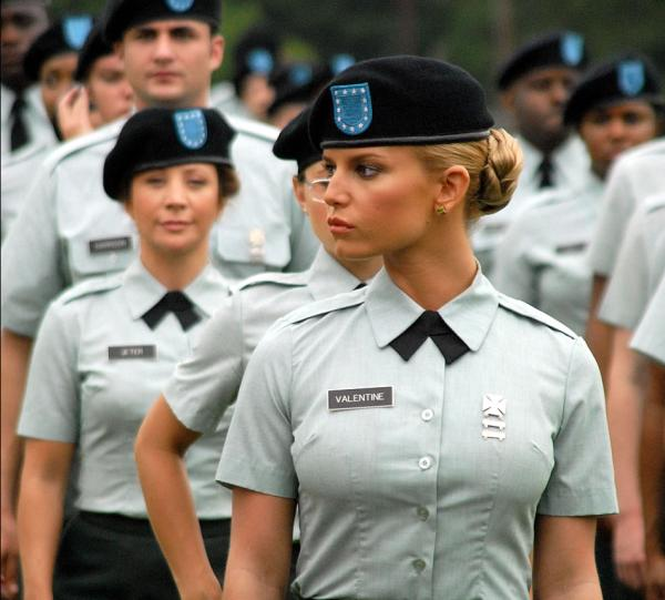 Jessica Simpson In The Army