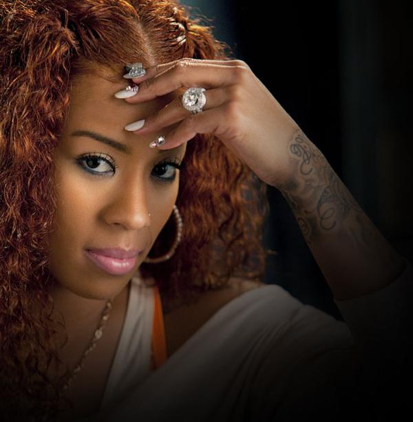 knot hair 30 Keyshia Cole Hairstyles Which Look Simply Great On Her