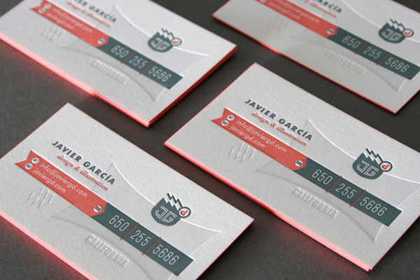 Javier Garcia Business Cards