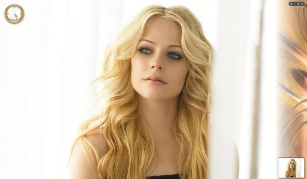 avril lavigne 30 Terrific Long Wavy Hairstyles